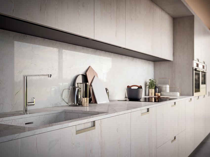 GD Arredamenti Velvet Handle Cucina