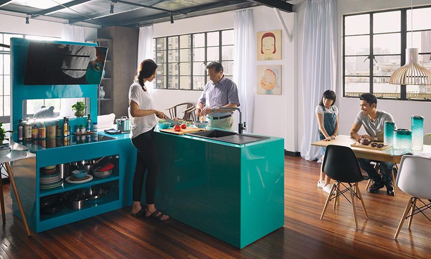 Maris Shangai Franke Cucine