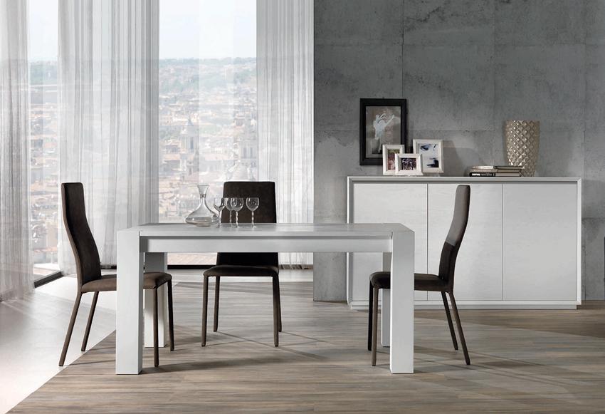 Basilea - Frassino laccato bianco