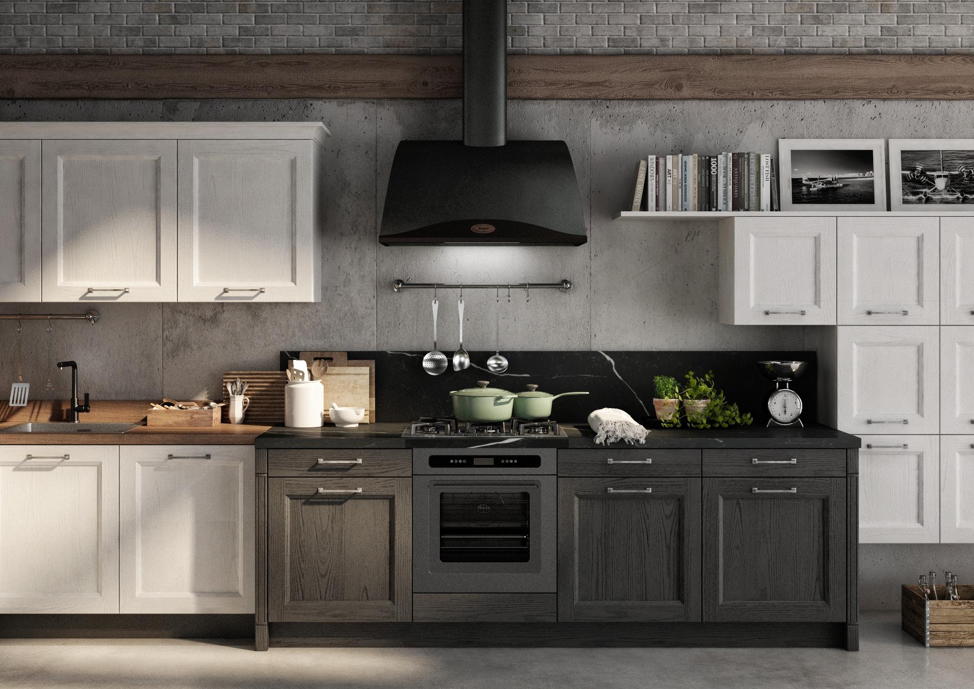 Cucina stile Neoclassico Gentili