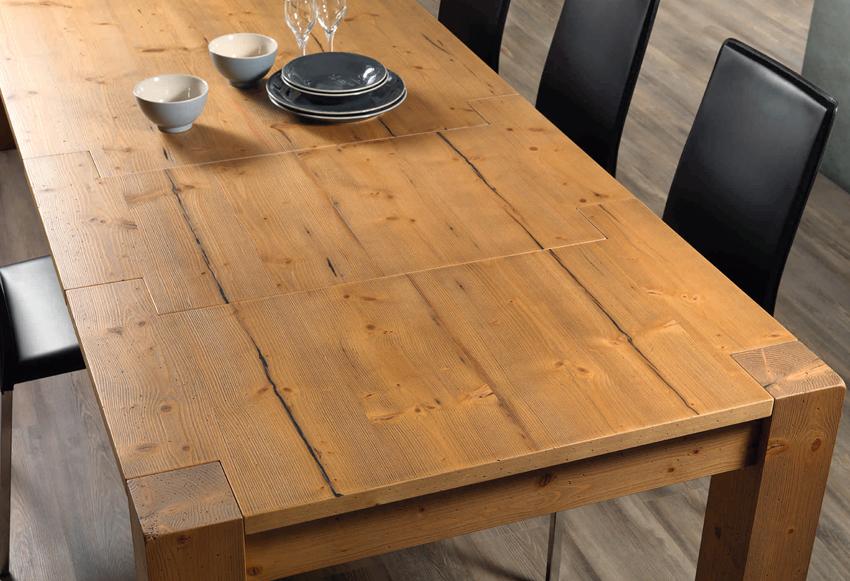 Panama Tavolo abete vecchio Pizzolato tavoli e sedie