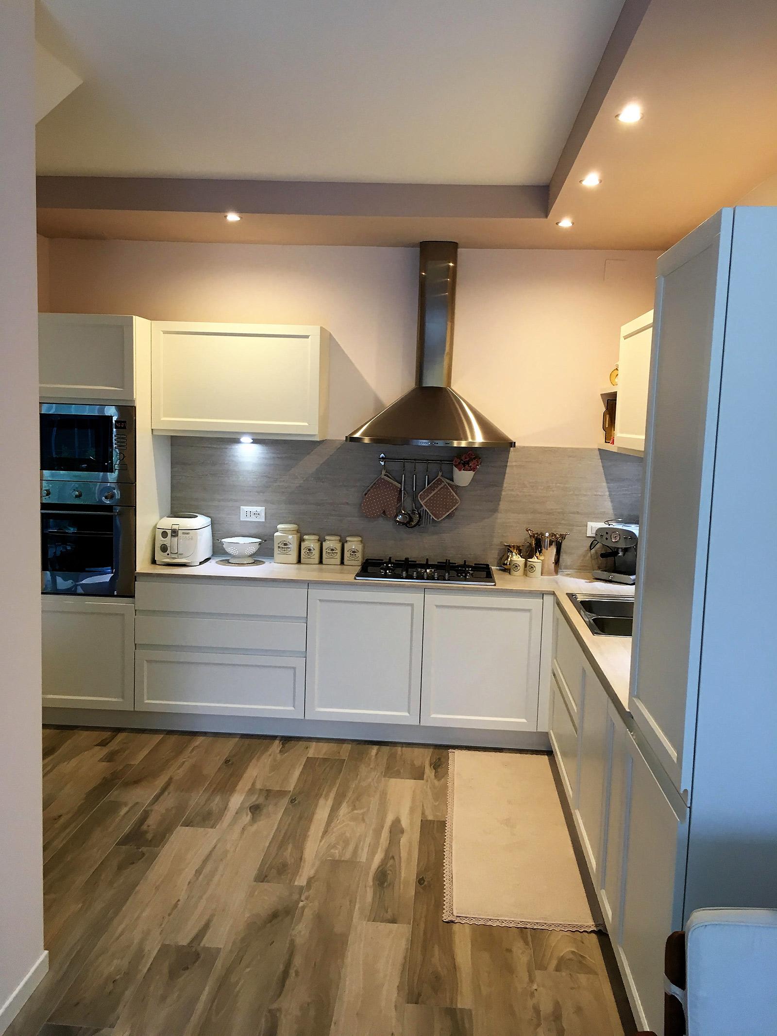 Cucina GD modello Gioiosa in un\'abitazione privata a Trevignano (TV)