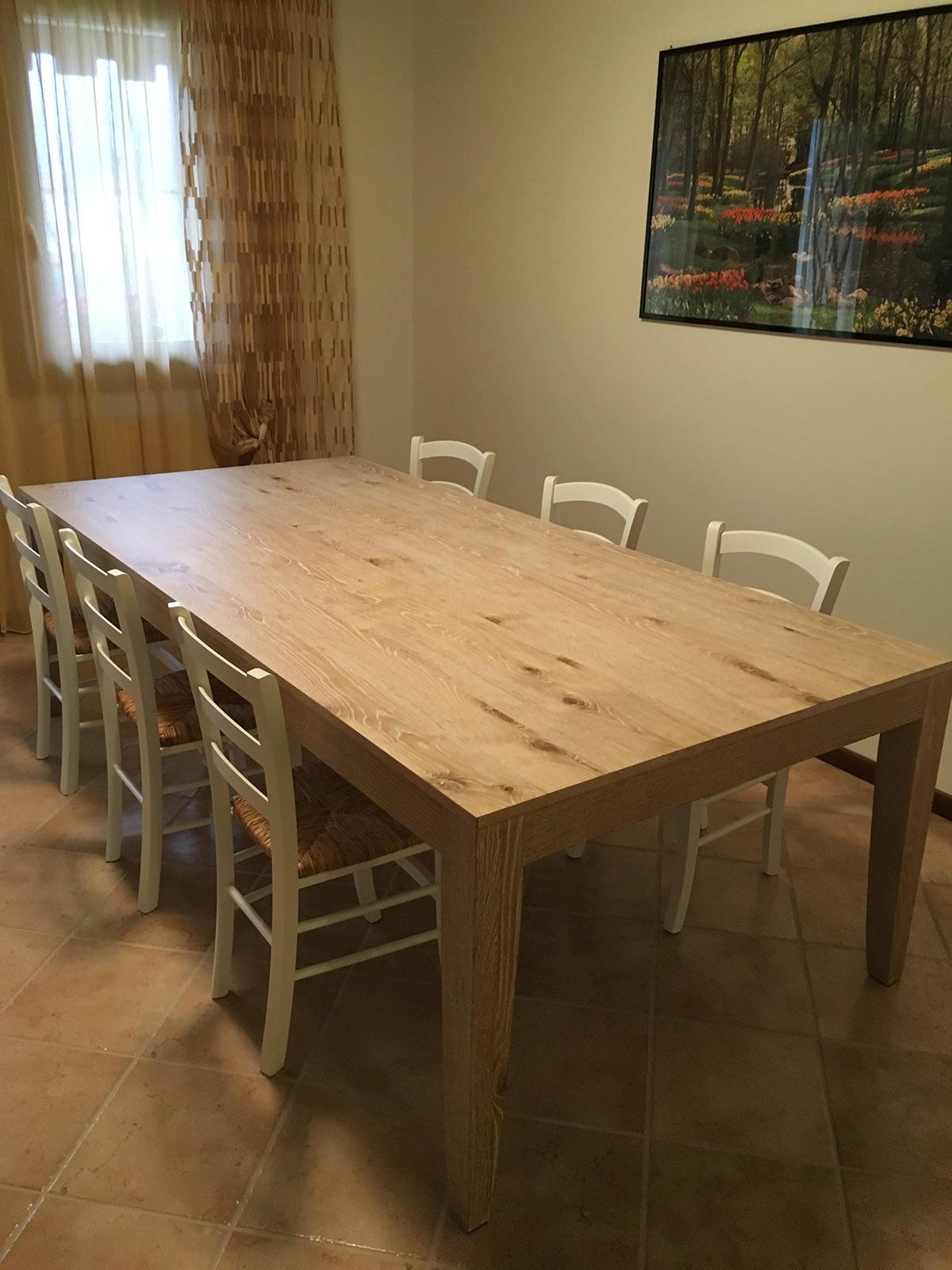 Emejing sedie bianche legno ideas for Sedie moderne per tavolo in legno