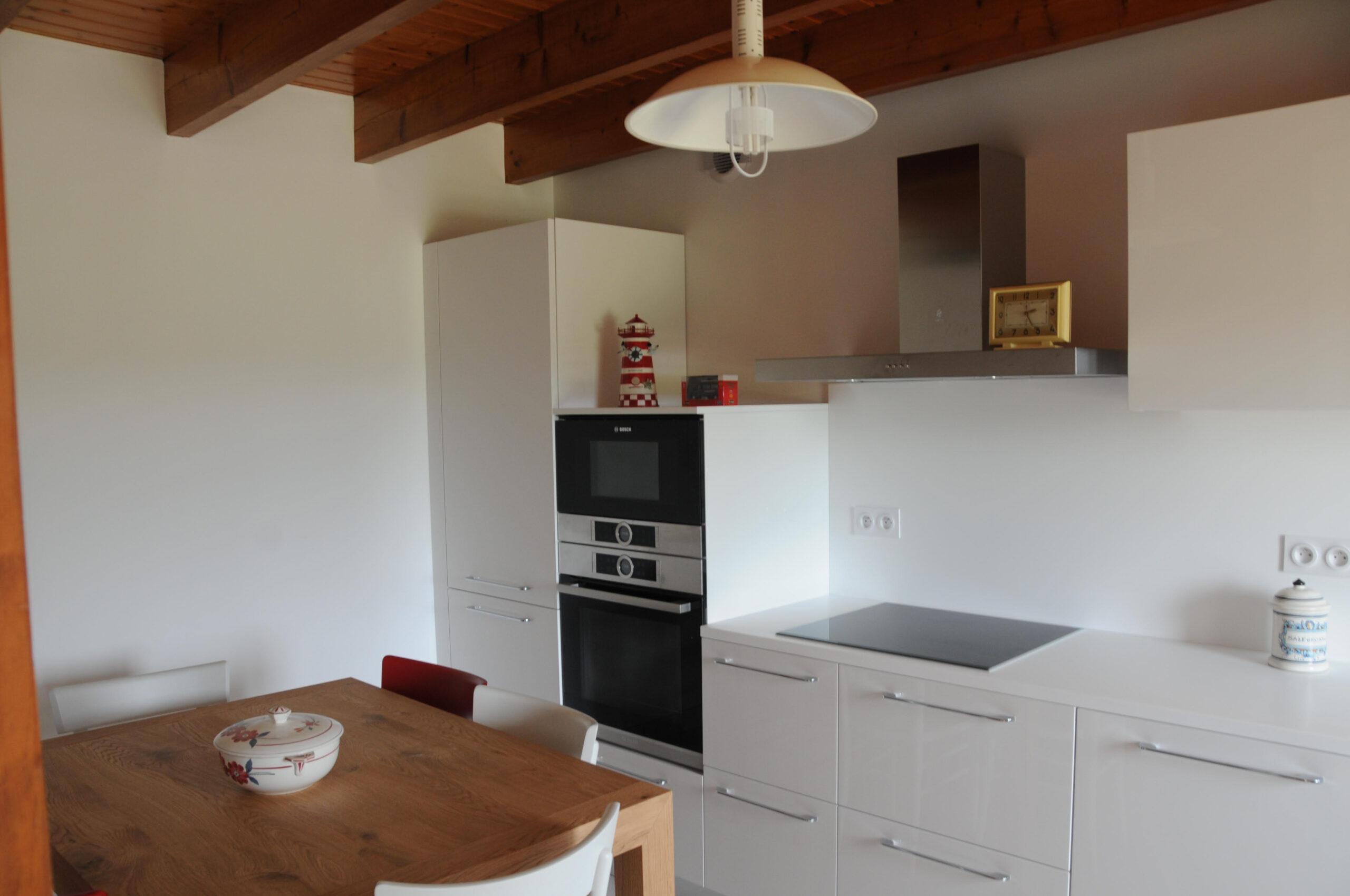 Cucine Bianche E Legno. Cucina Moderna Bianca E Legno With Cucine ...