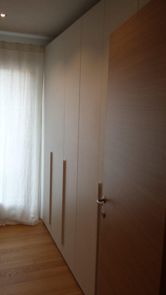 Camere spagnol laccato bianco e frassinato